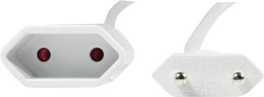 LogiLink Strom Verlängerungskabel [1x Euro-Stecker - 1x Euro-Kupplung] 1 m Weiß