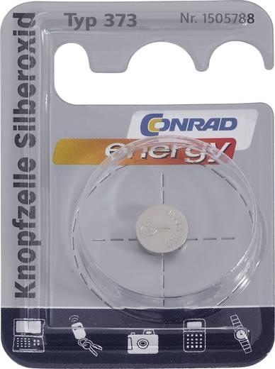 Knopfzelle 373 Silberoxid Conrad energy SR68 29 mAh 1.55 V 1 St.