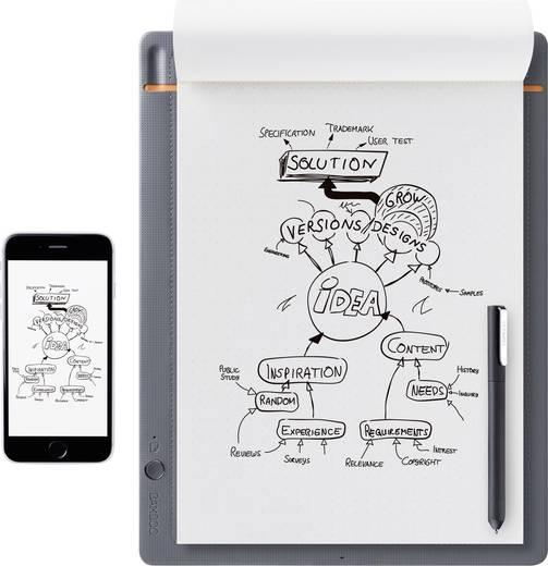 Wacom Bamboo Slate Large Elektronisches Notizbuch Live-Übertragung Grau