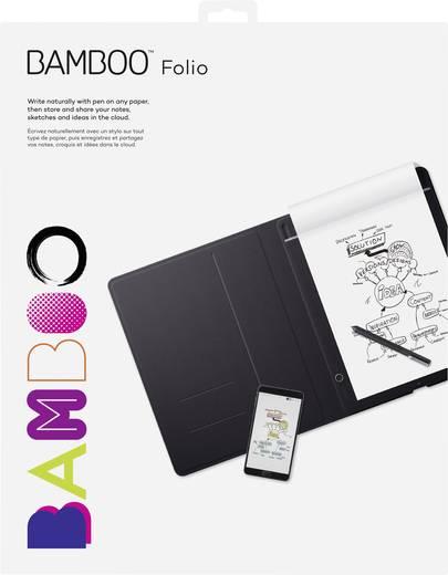 Elektronisches Notizbuch Wacom Bamboo Folio Large Live-Übertragung Grau