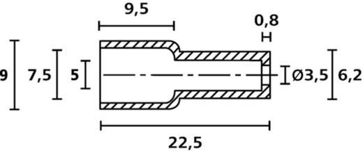 HellermannTyton HV4820 PVC BK 2000 Schutzkappe Klemm-Ø (max.) 6 mm PVC Schwarz 1 St.
