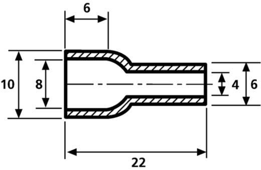 HellermannTyton HV4824 PVC-FR BK 2000 Schutzkappe Klemm-Ø (max.) 8 mm PVC Schwarz 1 St.