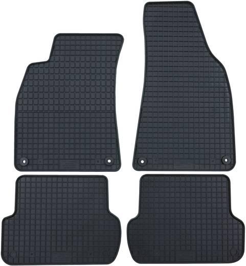 Fußmatte (fahrzeugspezifisch) Volkswagen Tiguan Styrol-Butadienkautschuk-Naturkautschuk-Gemisch Schwarz Petex 63510