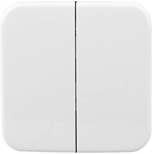 Kopp Free Control Doppel-Schalterwippe STANDARD 2/4 Arktis-Weiß