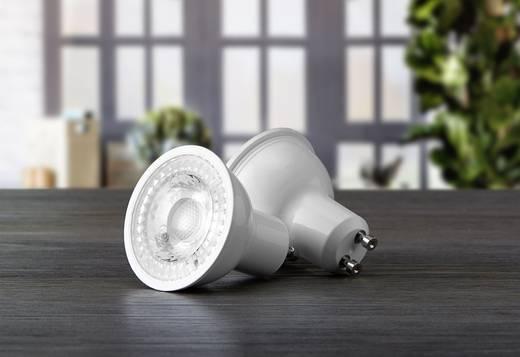 Sygonix LED EEK A+ (A++ - E) GU10 5 W = 58 W Kaltweiß (Ø x L) 54 mm x 50 mm 1 St.