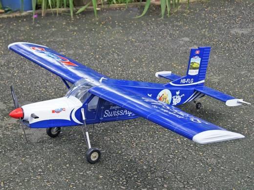 VQ Pilatus Porter (Patrouille Swiss Alps) RC Motorflugmodell ARF 1580 mm