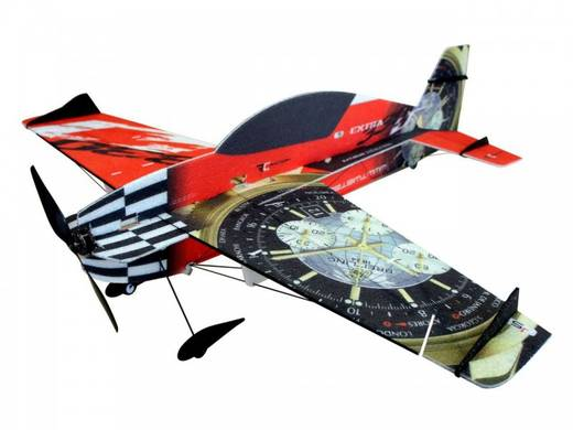 RC Factory Extra 330 Superlite Rot RC Indoor-, Microflugmodell Bausatz 840 mm