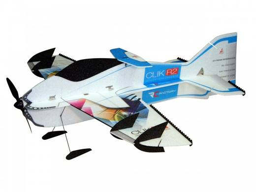 RC Factory Clik R2 Superlite (Combo) Blau RC Indoor-, Microflugmodell PNP 840 mm