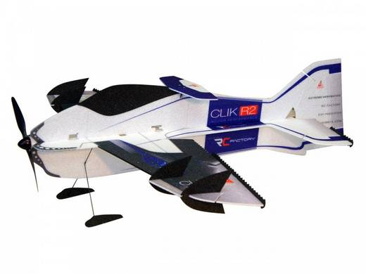 RC Factory Clik R2 Superlite (Combo) Lila RC Indoor-, Microflugmodell PNP 840 mm