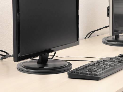 TOOLCRAFT Monitor-Drehteller Ø 25.4 cm Schwarz