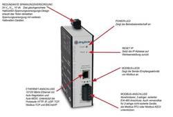 Image of Gateway Anybus BACnet/Modbus-Gateway Betriebsspannung: 24 V/AC