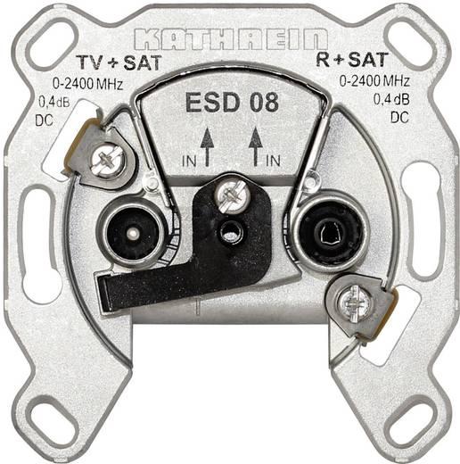 Kathrein ESD 08 Antennendose SAT, TV, UKW Unterputz Einzelanschlussdose