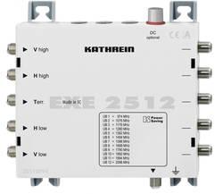 Commutateur multiple SAT cascade Unicable Kathrein EXE 2512 Entrées: 5 (4 SAT/1 terrestre) Nombre d'abonné(s): 12