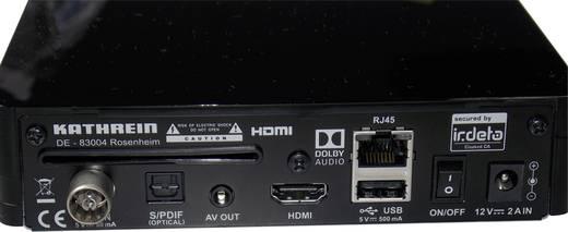 Kathrein UFT 930sw DVB-T2 Receiver freenet TV Entschlüsselung 3 Monate gratis, Deutscher DVB-T2 Standard (H.265), Front-