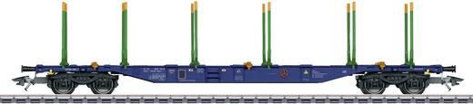 Märklin 47093 H0 4er-Set KLV-Tragwagen BA Sgnss der Sveaskog