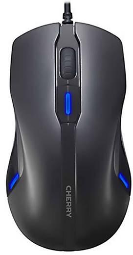 CHERRY MC4000 USB-Maus Optisch Beleuchtet Schwarz
