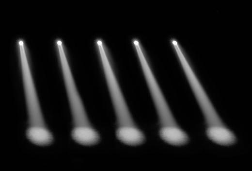 LED-Pinspot Cameo Q-Spot 15 W Anzahl LEDs: 1 15 W Schwarz