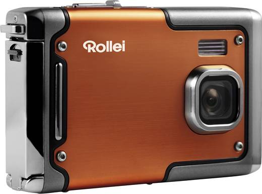 Rollei SPORTSLINE 85 Digitalkamera 8 Mio. Pixel Orange Full HD Video, Stoßfest, Unterwasserkamera