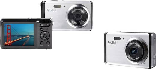 Rollei Compactline 83 Digitalkamera 8 Mio. Pixel Silber