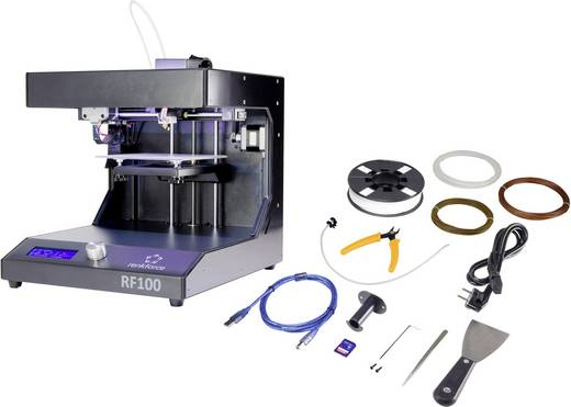Renkforce RF100 3D Drucker Starter-Kit inkl. Filament