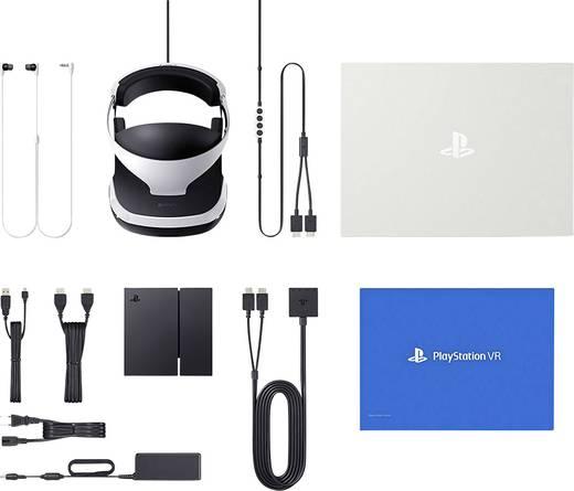 Sony PlayStation® VR Schwarz/Weiß Virtual Reality Brille mit integriertem Soundsystem