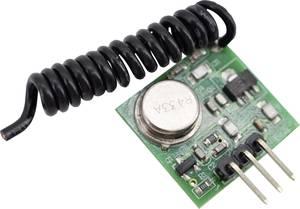433Mhz Funk Sender Transmitter Empfänger Modul Kit Platine lernfähig 1000m