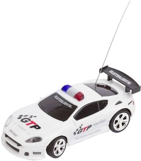 Invento RC Polizei-Racer weiß 1:58 RC Einsteiger Modellauto Elektro