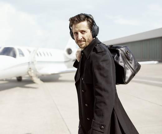 Sennheiser PXC 550 Wireless Bluetooth® Reise Kopfhörer Over Ear Faltbar, Headset, Noise Cancelling, Touch-Steuerung