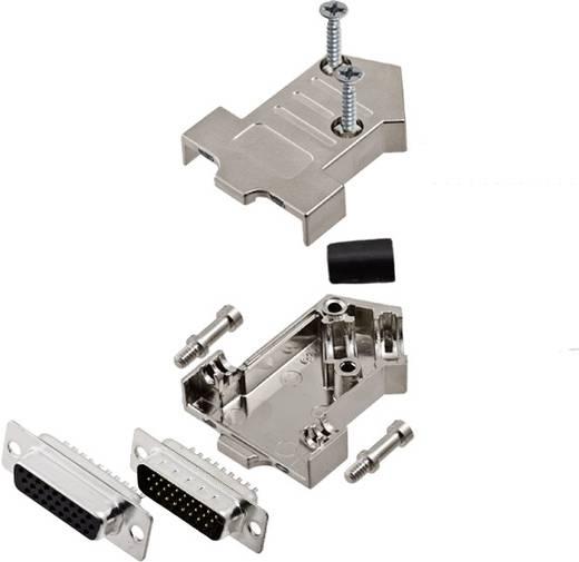 D-SUB Buchsenleisten-Set 45 ° Polzahl: 26 Lötkelch encitech D45NT09-M-HDS26-K 1 Set