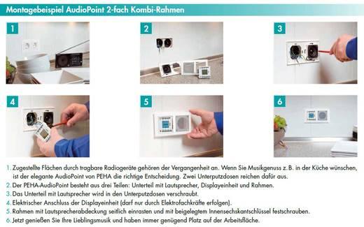 peha by honeywell einsatz unterputz radio peha wei mp3. Black Bedroom Furniture Sets. Home Design Ideas