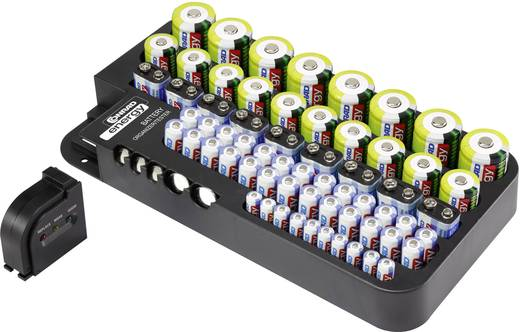 Batteriebox Micro (AAA), Mignon (AA), Baby (C), Mono (D), 9 V Block, CR 927, CR 2032, LR 44 Conrad energy Box Multi inkl