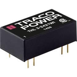 DC / DC menič napätia, DPS TracoPower THL 3-4810WI, 48 V/DC, 3.3 V/DC, 600 mA, 3 W