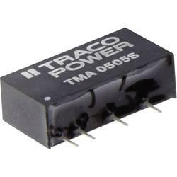 DC / DC menič napätia, DPS TracoPower TMA 1515S, 15 V/DC, 15 V/DC, 65 mA, 1 W