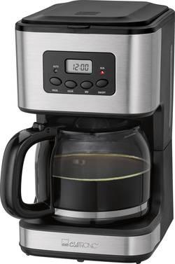 Kávovar Clatronic KA 3642, černá, nerezová ocel