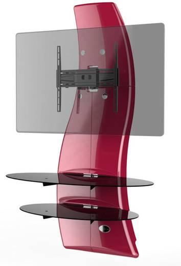 meliconi ghost design 2000 fix metallic tv wandhalterung 81 3 cm 32 160 0 cm 63 starr. Black Bedroom Furniture Sets. Home Design Ideas