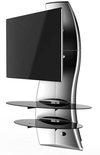 meliconi ghost design 2000 rotation silver tv. Black Bedroom Furniture Sets. Home Design Ideas