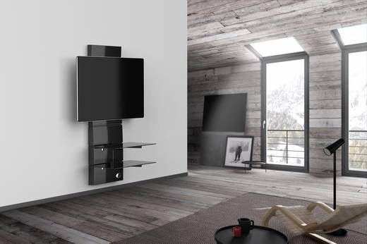 meliconi ghost design 3000 fix gloss black tv. Black Bedroom Furniture Sets. Home Design Ideas