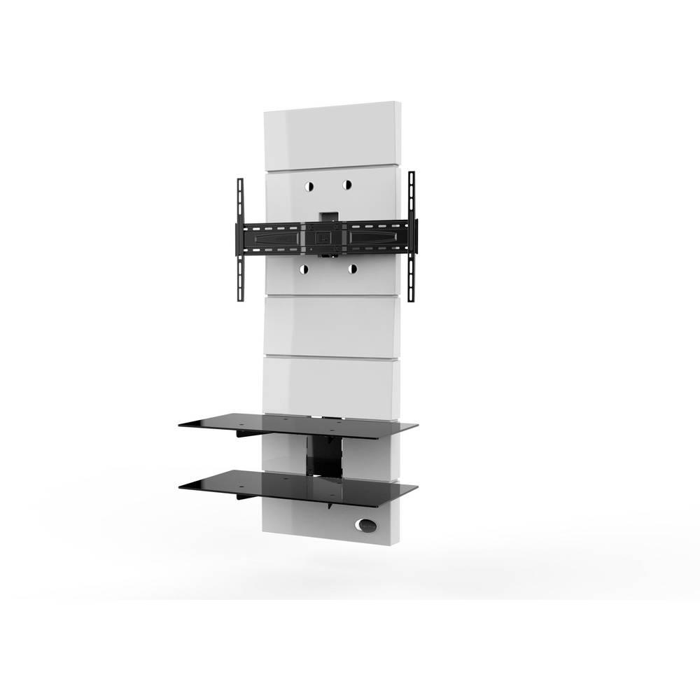 support mural tv meliconi ghost design 3000 fix white. Black Bedroom Furniture Sets. Home Design Ideas