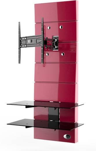 meliconi ghost design 3000 rotation red tv wandhalterung 81 3 cm 32 160 0 cm 63 neigbar. Black Bedroom Furniture Sets. Home Design Ideas