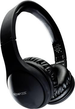 Casque supra-aural Boompods Headpods pliable, micro-casque noir