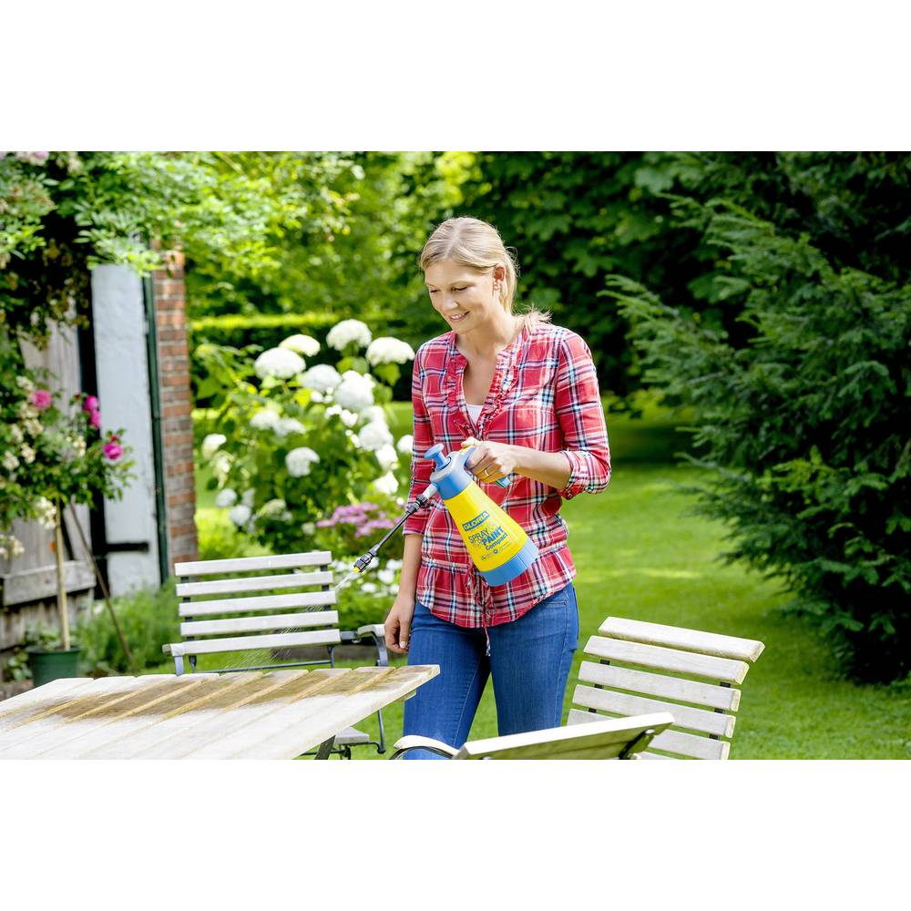 druckspr her l spray paint compact gloria haus und garten im conrad online. Black Bedroom Furniture Sets. Home Design Ideas