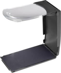 Stolní lupa s LED osvětlením TOOLCRAFT 1511641, zvětšení: 2 x