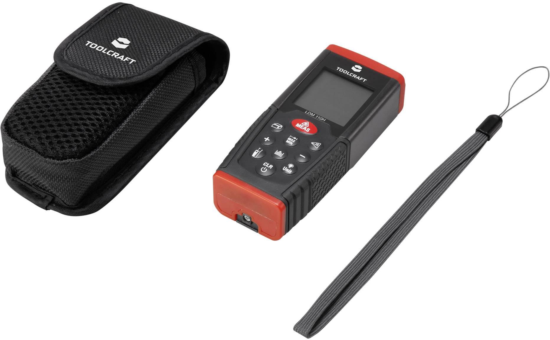 Laser Entfernungsmesser Mieten : Toolcraft ldm h laser entfernungsmesser messbereich max m