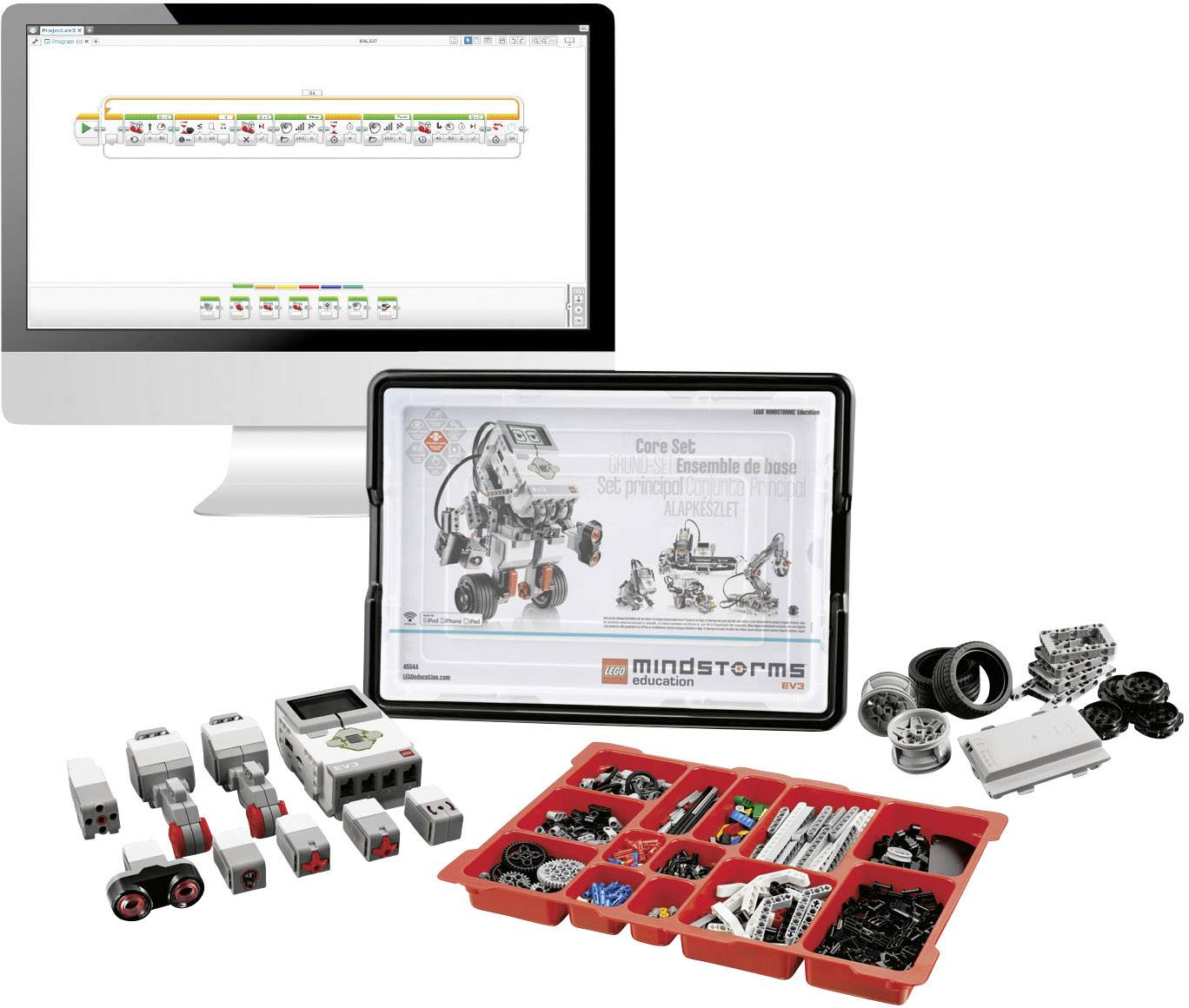 Lego Education Mindstorms Education Ev3 Bausatz Basis Set 2 Schüler