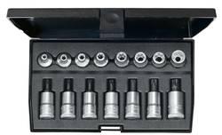 """Sada nástrčných klíčů a bitů, TORX, vnější TORX Gedore 1509942, 3/8"""", 15dílná"""