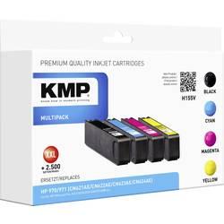 Ink sada náplní do tiskárny KMP H155V 1902,4850, kompatibilní, černá, azurová, purppurová, žlutá