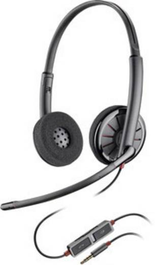 Plantronics Blackwire C225 Telefon-Headset 3.5 mm Klinke schnurgebunden On  Ear Schwarz 5196574b44