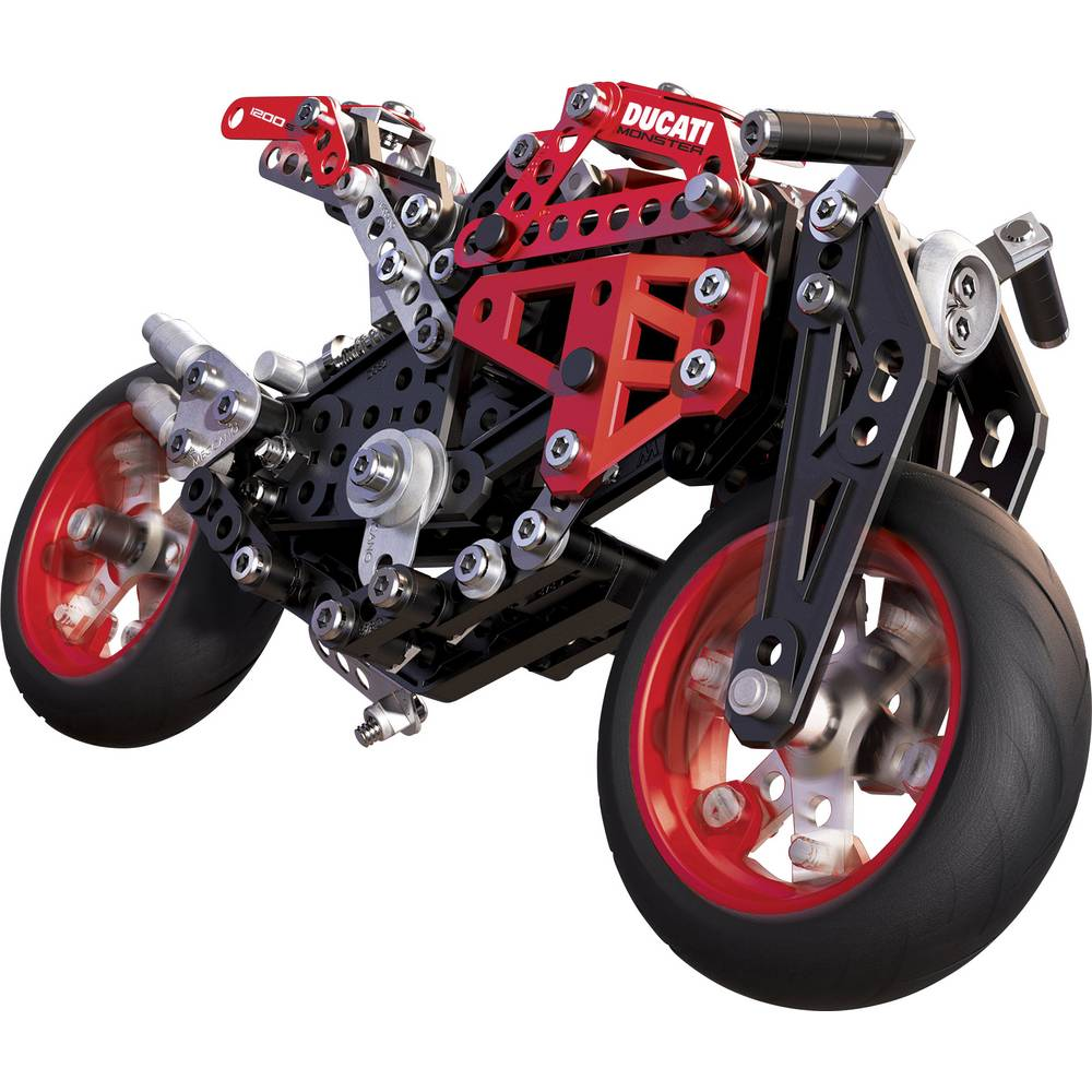 meccano tech metallbaukasten ducati motorrad im conrad. Black Bedroom Furniture Sets. Home Design Ideas