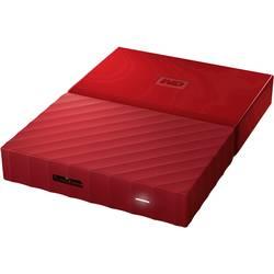 """Externí HDD 6,35 cm (2,5"""") WD My Passport™, 1 TB, USB 3.0, červená"""