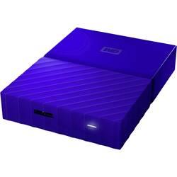 "Externý pevný disk 6,35 cm (2,5"") WD My Passport™, 4 TB, USB 3.0, modrá"